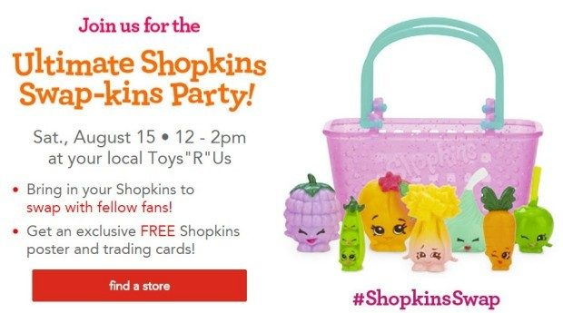 FREE Shopkins Poster & Trading Cards!