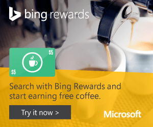 FREE Credits By Searching The Internet With Bing!