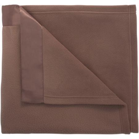 Mainstays Fleece Blanket with Satin Trim Collection Just $9.84!
