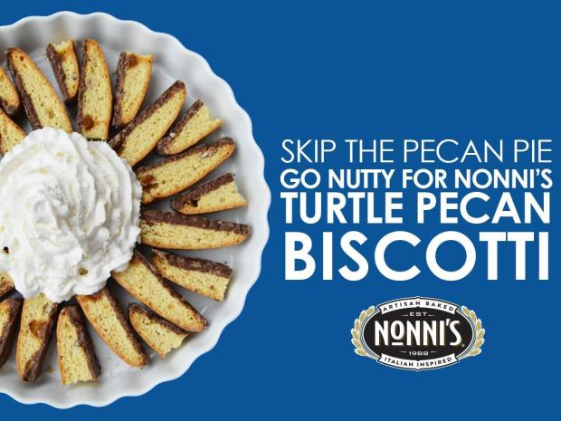 Nonni's Turtle Pecan Biscotti Giveaway!