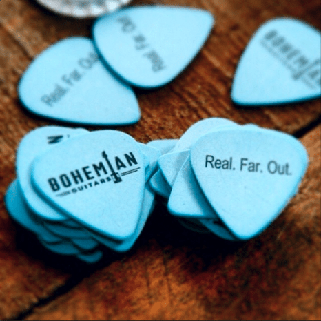 FREE Bohemian Guitar Picks!