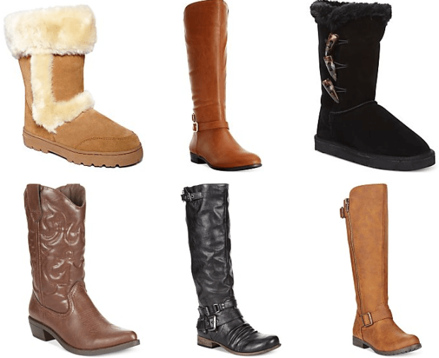 Buy One Get One Womens' Boots!  Prices Start At $20.82!