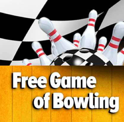 FREE Bowling Compliments Of #GoBowling!