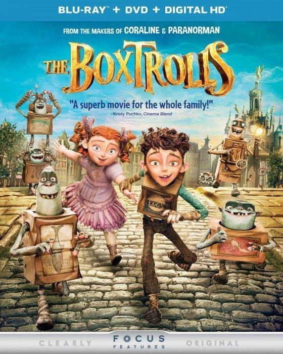 The Boxtrolls Blu-ray + DVD Just $8.99!