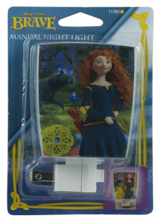 Disney/Pixar Wrap Shade Incandescent Night Light (Pixar's Brave) Just $3 Down From $12!