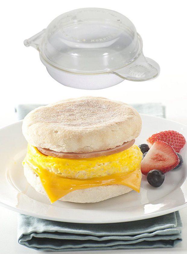 Nordic Ware Microwave Eggs 'n Muffin Breakfast Pan Just $3.64! (Reg. $14)