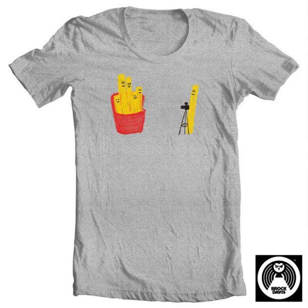 Family Portrait T-Shirt By Brock Davis Only $3.99!