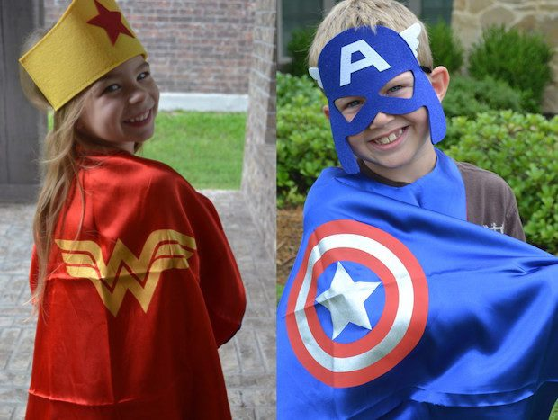 Super Hero Cape Sets - 10 Styles Only $9.99!