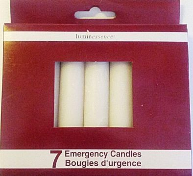 Emergency Candles