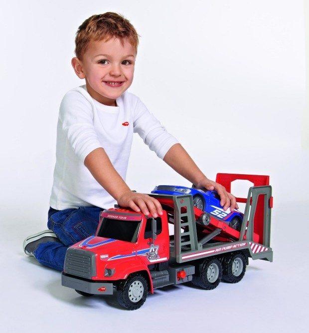 Dickie Toys Air Pump Car Transporter Only $9.09!  (Reg. $30)