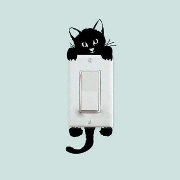 Cat Switch Stickers Just $2!  Ships FREE!