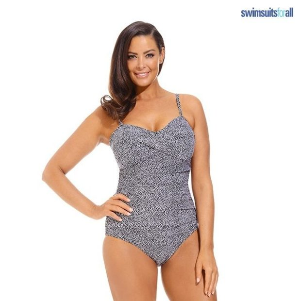 Swimsuitsforall Twist-Front Bandeau Only $27 Shipped!