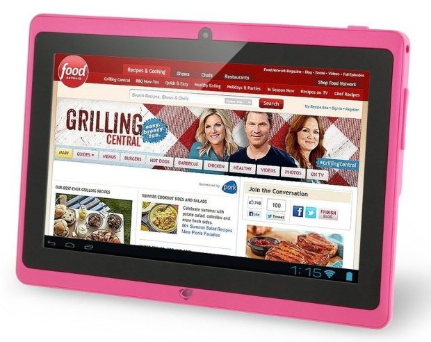 """Chromo Inc 7"""" Tablet Google Android 4.4 Pink Only $37.99! (Reg. $170!)"""