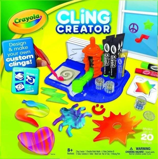 Crayola Cling Creator Just $12.49! (reg. $24.99)