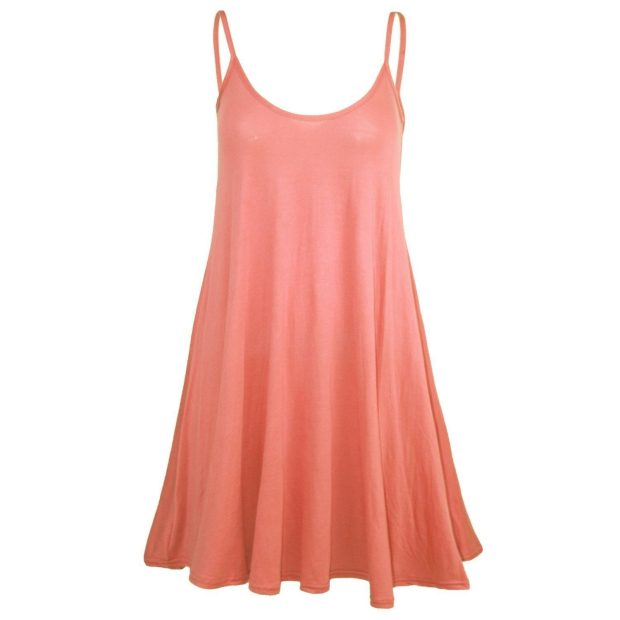 Sleeveless Strappy Swing Dress Just $8.05! Ships FREE!