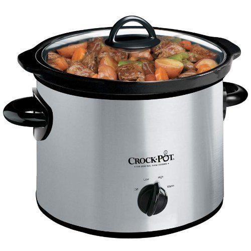Crock-Pot 3-Quart Slow Cooker Only $20.99!