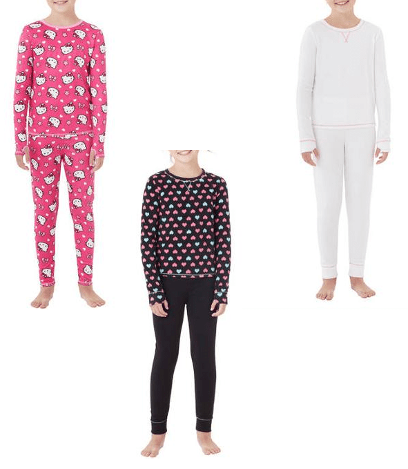Girls Cuddle Duds Sets Only $3!  (Reg. $10)!