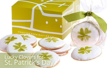 Lucky Clovers Cookies for St. Patrick's Day Only $19.99!