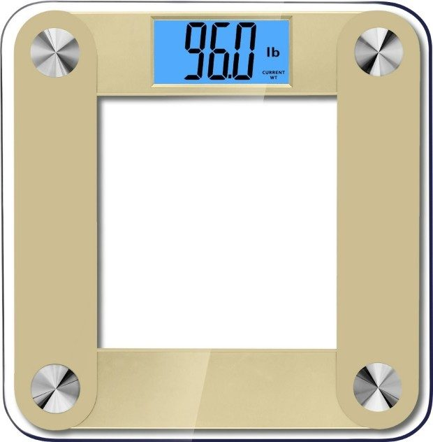 High Accuracy Plus Digital Bathroom Scale Only $13.95! (Reg. $60!)