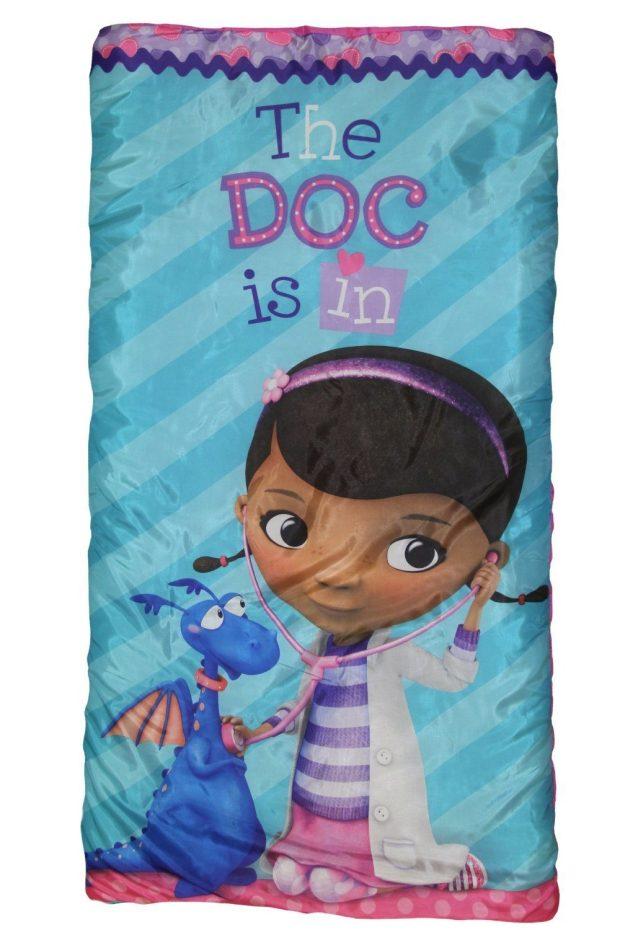 """Disney Jr Doc McStuffins """"Hugs"""" Slumber Bag Only $9.58 (Reg. $23)"""