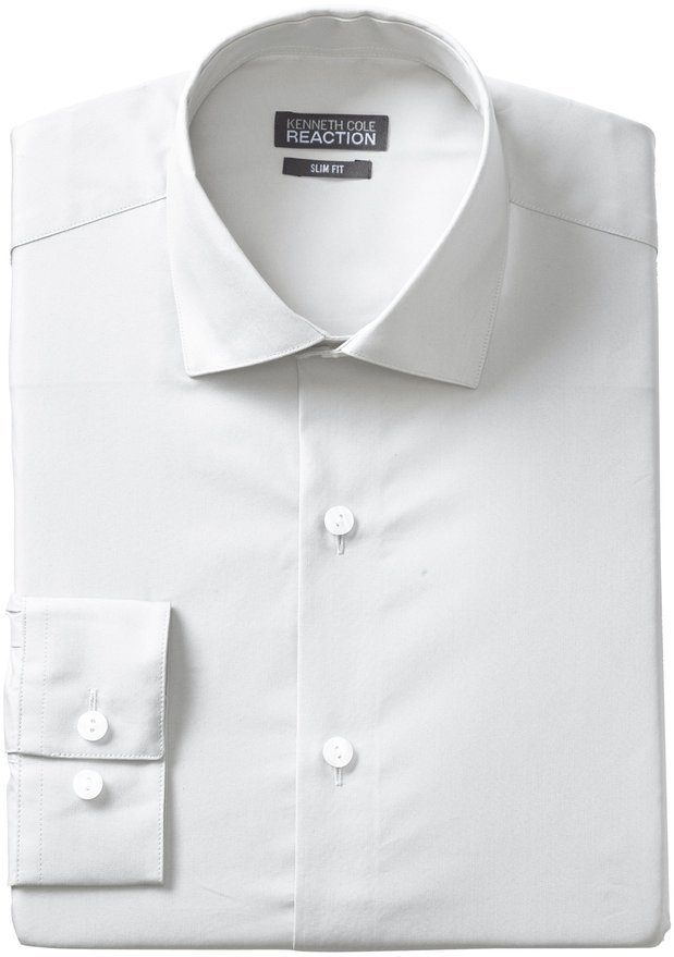 Kenneth Cole Reaction Men's Slim-Fit Chambray Dress Shirt Only $16.19! (Reg. $59.50)