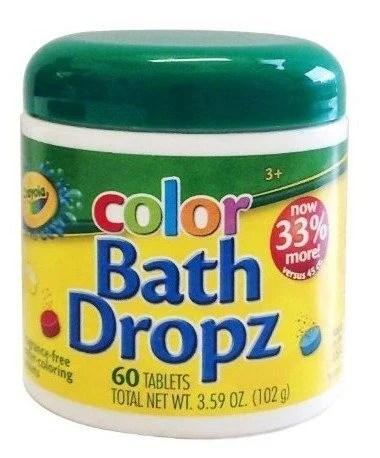 Crayola Bath Dropz 60 Tablets Just $4.08 (Reg. $10)