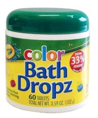 Crayola Bath Dropz 60 Tablets Just $4.08 (Reg. $10)