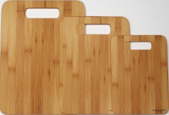 Bamboo 3 Pc Cutting Board Set Only $11.99! (Reg. $40)