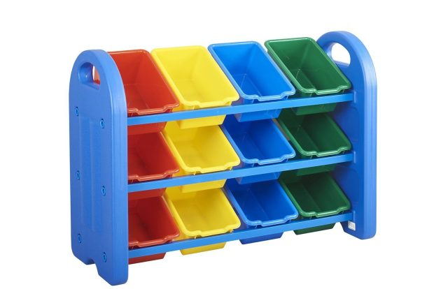 ECR4Kids 3-Tier Toy Storage Organizer with 12 Bins Was $100 Now Only $54.99!