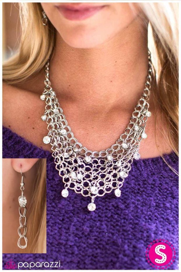 Fishing For Compliments Necklace And Earrings Just $5!