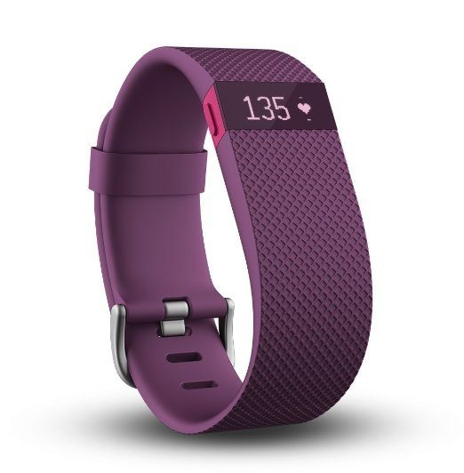 Fitbit Charge HR In Plum - Large Was $150 Now Only $135!