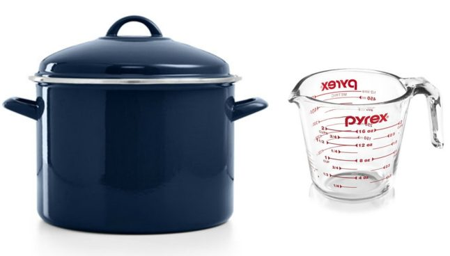 Martha Stewart Stockpot & Pyrex Measuring Cup Just $18.98 (Was $87)!