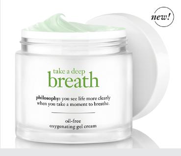 FREE Take A Deep Breath Oil-Free Oxygenating Gel Cream Sample!