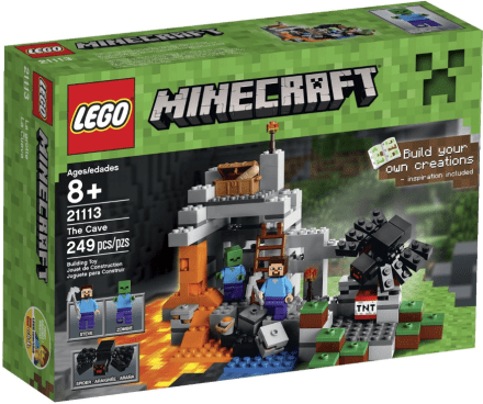 LEGO Minecraft The Cave Playset Just $13.99! (Was $20)