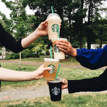 Buy Three Get One FREE Cold Handcrafted Drink at Starbucks!