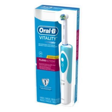 Oral-B Vitality Floss Action Rechargeable Electric Toothbrush Just $14.96 (Was $26)!