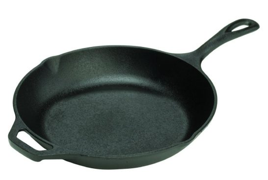 Lodge Pre-Seasoned Cast-Iron Chef's Skillet, 10-inch Only $13.49! (Reg. $27)