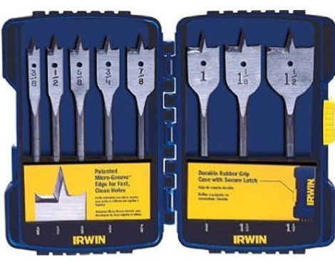 IRWIN Spade Bit 8 Pc Set With Case Just $13.16! (Was $16.45)