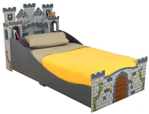 KidKraft Boy's Medieval Castle Toddler Bed Just $49.99! (Was $117)