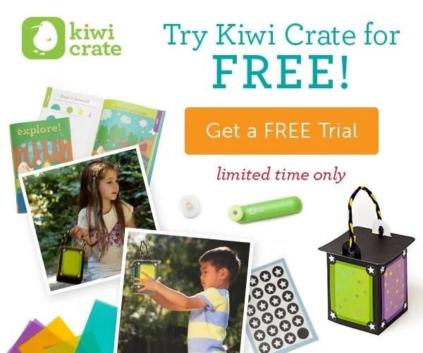 free kiwi crate box