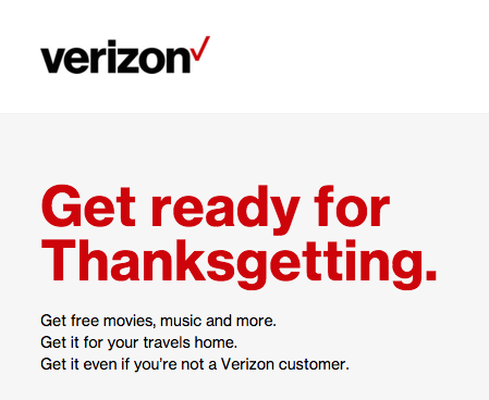 FREE $5 iTunes Gift From Verizon!
