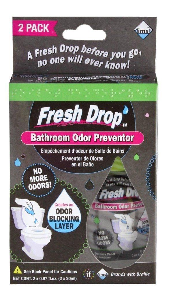Fresh Drop Bathroom Odor Preventor, 2-Pack Now Only $2.59!