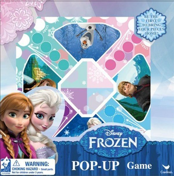 Frozen Pop Up Board Game Only $6.69 + FREE Prime Shipping!