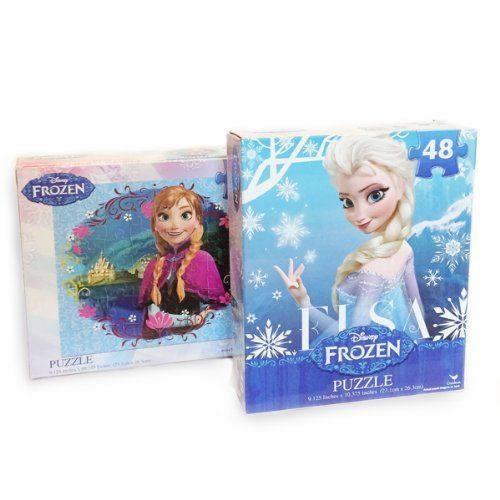 frozen princesses anna and elsa puzzles
