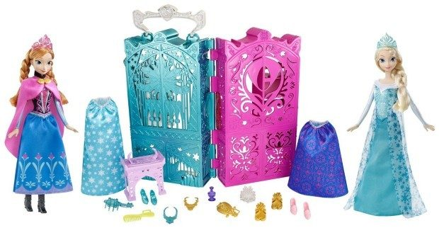 Disney Frozen Anna and Elsa's Royal Closet Gift Set (Includes Dolls!) Just $18.92!
