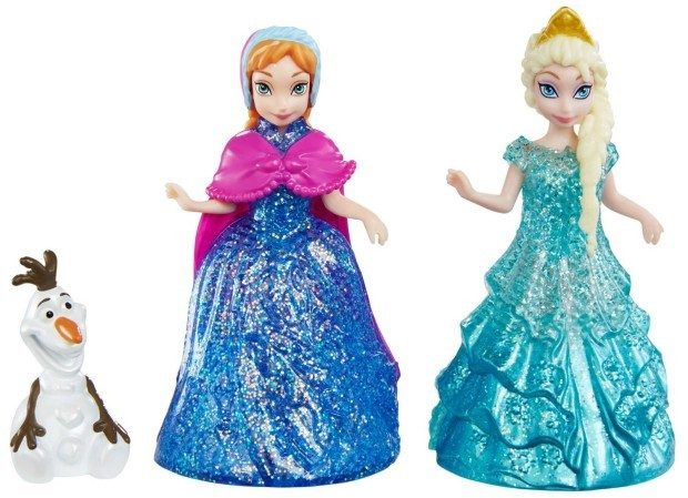 Disney Frozen Glitter Glider Anna, Elsa and Olaf Doll Set Only $9.89!