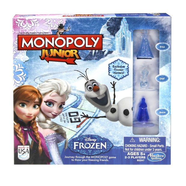 Monopoly Junior Game Frozen Edition Only $10.58 (Reg. $16.99)!