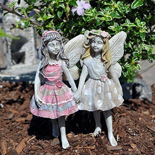 Miniature Garden Fairies Faith and Hope Only $10.84!