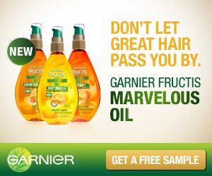 garnier fructis marvelous sample