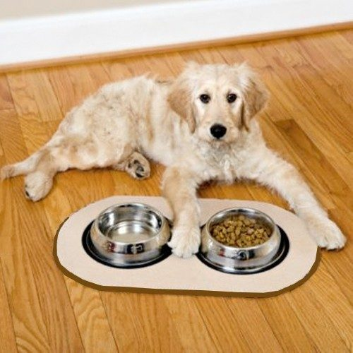 Pet Bowl Microfiber Non Skid Mat Only $5 Plus FREE Shipping!